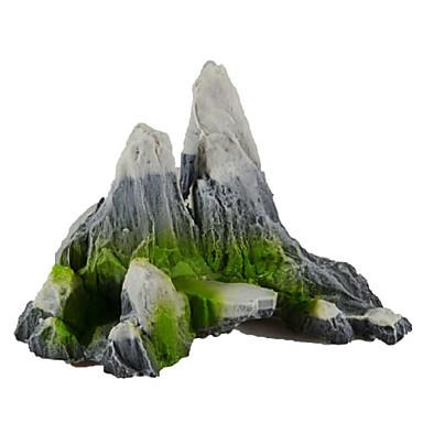 Akvarij Dekoracija Stijene Ukrasi Umjetno plastika