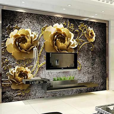 Art Deco Hjem Dekor Luksus Tapetsering, Annen Materiale selvklebende nødvendig Veggmaleri, Tapet