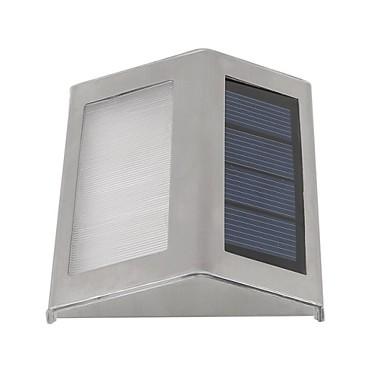 sol væglamper 2 førte udendørs vandtæt haven sti trapper soldrevne lampe