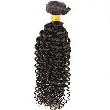 Brazil haj Göndör szövés Göndör Emberi haj sző 1 darab 0.05