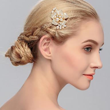 helmi rhinestone hair combs headpiece klassinen naisellinen tyyli
