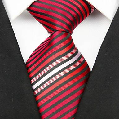 Krawatte(Mehrfarbig,Polyester)Gestreift