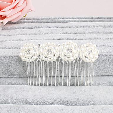 Pele de pérolas penteado festa de noiva estilo feminino elegante