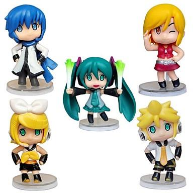 Anime Action-Figuren Inspiriert von Cosplay Hatsune Miku PVC 5 CM Modell Spielzeug Puppe Spielzeug