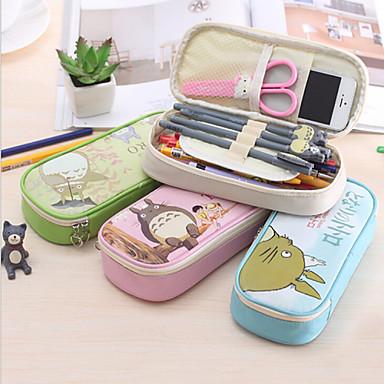 Penaalit-PU Leather-Cute / Liiketoiminta / Monitoimilaitteet-Vihreä / Sininen / Pinkki / Beige-
