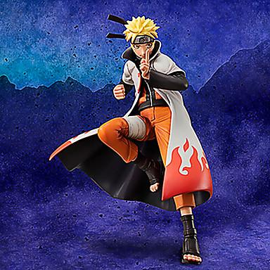 Anime Action Figurer Inspirert av Naruto Naruto Uzumaki PVC 17 CM Modell Leker Dukke