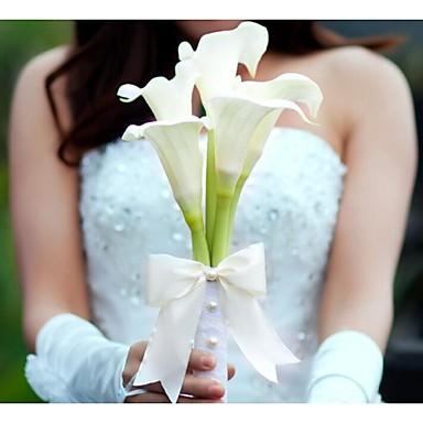 Bouquets de Noiva Buquês Casamento Festa / Noite Poliéster 11.8