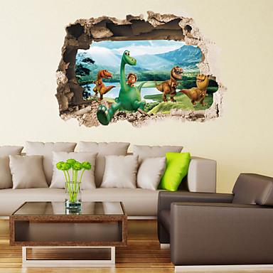 Tiere / Retro / Fantasie / 3D Wand-Sticker 3D Wand Sticker,pvc 50*70cm