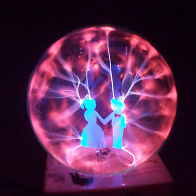 Magie Glas Plasmakugel Kugel Liebhaber 4-Zoll elektronische magische Kugel kreative Handwerk Schmuck Geburtstagsgeschenk für Kinder