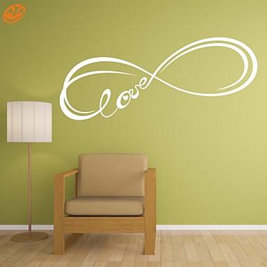 Riječi i citati / Romantika / Moda / Sažetak / Fantazija Zid Naljepnice Zidne naljepnice,PVC M:42*128cm/ L:55*167cm