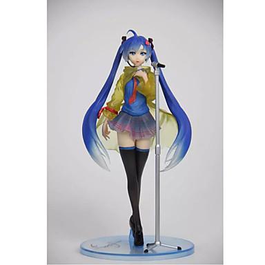 애니메이션 액션 피규어 에서 영감을 받다 보컬로이드 Hatsune Miku PVC 23 CM 모델 완구 인형 장난감