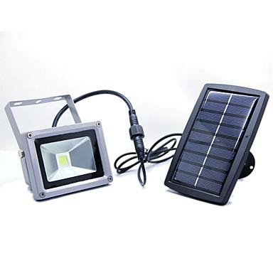 10w vesitiivis valo-ohjaus aurinkoenergiaa led-lamppu parveke puutarha ulko käytävä