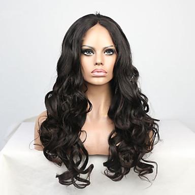 שיער אנושי פאה תחרה מסולסל תחרה מלאה חזית תחרה חלק קדמי תחרה ללא דבק ללא דבק, תחרה מלאה 100% קשירה ידנית פאה אפרו-אמריקאית שיער טבעי 130%