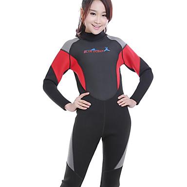 יוניסקס 3mm Skins הצלילה חליפה רטובה מלאה ייבוש מהיר עמיד אולטרה סגול הגנה בפני קרינה Chinlon חליפת צלילה חליפות צלילה מגן מפריחה-שחייה