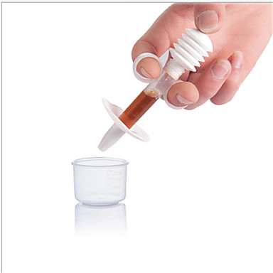 qihuitang® 1 개 아기 유아 의학 피더 적기 의료 식용 실리콘 발프을 방지