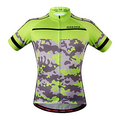 WOSAWE Camisa para Ciclismo Mulheres Unisexo Manga Curta Moto Pulôver Camisa/Roupas Para Esporte Blusas Secagem Rápida Design Anatômico