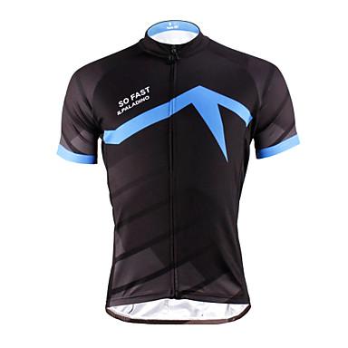 ILPALADINO Camisa para Ciclismo Homens Unisexo Manga Curta Moto Camisa/Roupas Para Esporte Blusas Secagem Rápida Resistente Raios