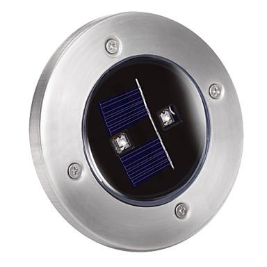 Solar LED-2 luz do solo decks para a iluminação do jardim da paisagem, caminho, escada