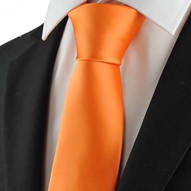 עניבה-חלק(צהוב,פוליאסטר)
