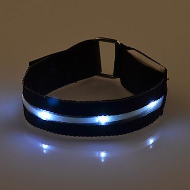 LED-käsivarsinauha juoksuun Heijastinnauha Heijastinvyö juoksuun varten