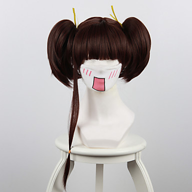 Cosplay Perücken Cosplay Nameless Actress Anime Cosplay Perücken 35 CM Hitzebeständige Faser Damen