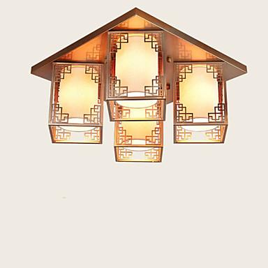 Uppoasennus ,  Maalaistyyliset Galvanoitu Ominaisuus for LED MetalliLiving Room Makuuhuone Ruokailuhuone Työhuone/toimisto Lastenhuone