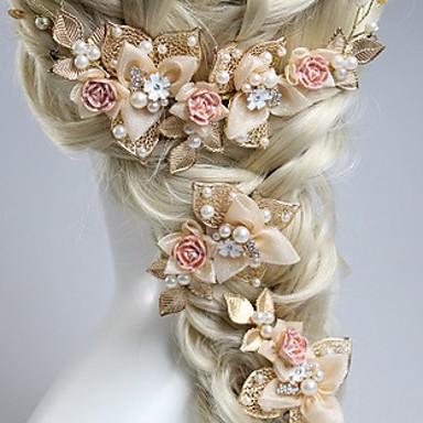 Perle Stirnbänder mit 1 Hochzeit / Normal / Draussen Kopfschmuck