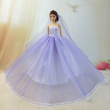 Häät Mekot varten Barbie-nukke Mekot varten Tytön Doll Toy