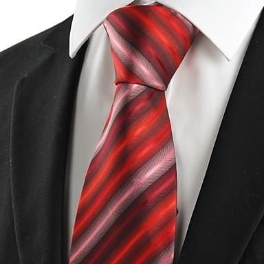Solmio-Polyesteri,Raidallinen,Punainen