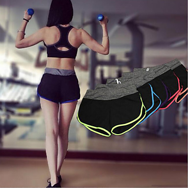 여성용 러닝 반바지 빠른 드라이 통기성 반바지 하단 용 요가 운동&피트니스 레저 스포츠 달리기 슬림