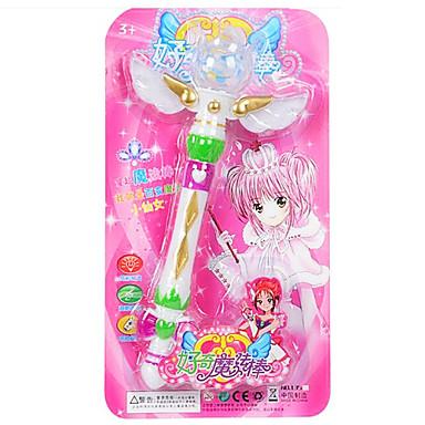 아이의 모든 게임 장난감을위한 마법의 지팡이 플라스틱