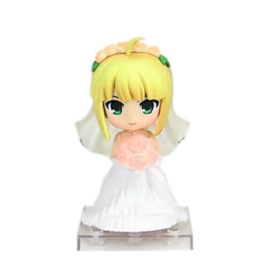 Anime Akciófigurák Ihlette Fate/Stay Night Szerepjáték PVC 10 CM Modell játékok Doll Toy