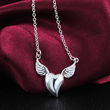 Žene Srce Klasik Ljubav Srce Ogrlice s privjeskom Plastika Ogrlice s privjeskom Hvala vam Voljeni Nakit odjeće