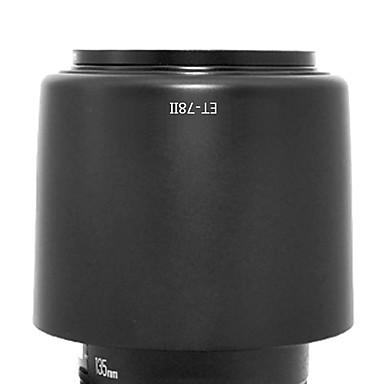 newyi® et-78ii napellenzőt árnyékban Canon EF 135mm f / 2L USM 180mm f / 3.5L Macro USM (et-78 ii)