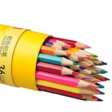 tre søte fargede blyanter (36pcs)