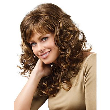 Synthetische Perücken Locken / Klassisch Synthetische Haare Perücke Damen