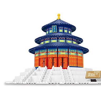 WAN GE Byggeklosser Leketøy Himmelens tempel Plast 1 Deler