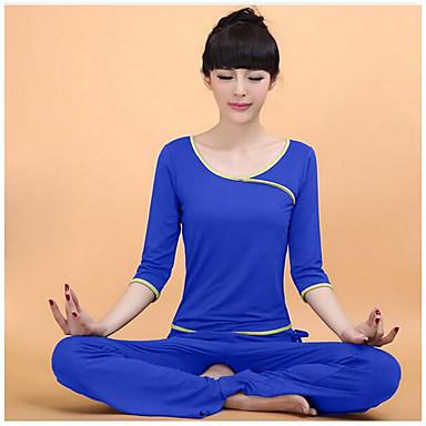 Yoga Kleidungs-Sets Atmungsaktiv Sanft Hochelastisch Sportbekleidung DamenYoga Übung & Fitness Freizeit Sport