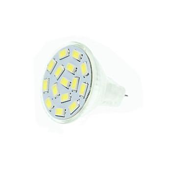 Mr11 gz4 gu4 g4 2w теплый / холодный белый 15 x 5730smd led 210-245 lm лампа накаливания (ac / dc10-30v)