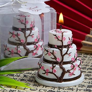 Tema Asiático Tema Clássico Tema Fadas Chá de Bebê Favores da vela - 1 Velas Caixa de Ofertas