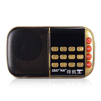 n-508 ניידת רדיו מיני רדיו כרטיס תכליתי בבוקר קשישים מוחצן