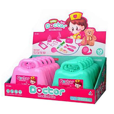 척 의료 상자를 재생 놀이 장난감 DIY 장난감 (1)