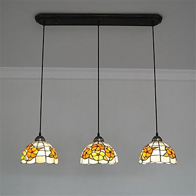 Riipus valot ,  Tiffany Muut Ominaisuus for Minityyli MetalliLiving Room Makuuhuone Ruokailuhuone Kitchen Työhuone/toimisto Lastenhuone