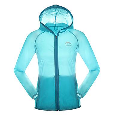 Unisex Langärmelige Fahhrad Atmungsaktiv Oberteile Camping & Wandern Angeln Übung & Fitness Snowboarding Gelb Grün Blau Rosa
