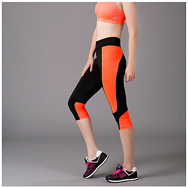 Jooga housut Legginsit Hengittävä Luonnollinen Erittäin elastinen Nettikauppa Musta Naisten koot Jooga Kuntoilu