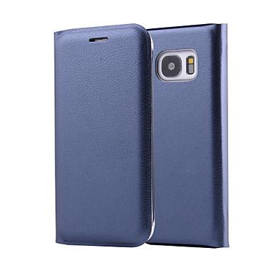Hülle Für Samsung Galaxy Samsung Galaxy Hülle Flipbare Hülle Ganzkörper-Gehäuse Solide PU-Leder für A3 (2017) / A5 (2017) / A7 (2017)
