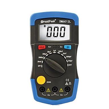 holdpeak dm6013l blau für Widerstand Kapazität Induktivität Tabelle