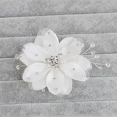 Cristal Pentes de cabelo 1 Casamento Ocasião Especial Casual Escritório e Carreira Ao ar livre Capacete