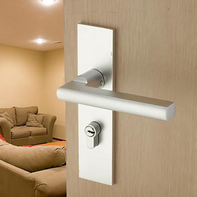 dorlink® modernen Aluminium-Silber Schlüssel Eintrag Türschloss