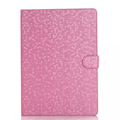 מגן עבור אייפד אייר 2 עם מעמד מצב שינה / ערנות אוטומטי מגנטי כיסוי מלא תבנית גאומטרית עור PU ל iPad Air 2